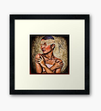Blinded By... Framed Print