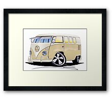 VW Splitty (11 Window) Camper Framed Print