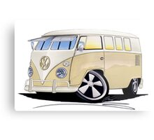 VW Splitty (11 Window) Camper Metal Print