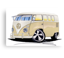 VW Splitty (11 Window) Camper Canvas Print