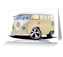 VW Splitty (11 Window) Camper Greeting Card