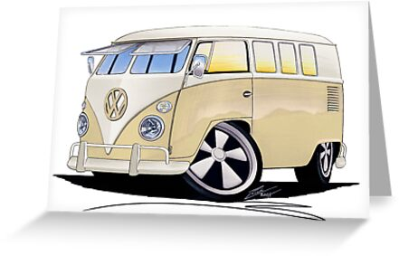 VW Splitty (11 Window) Camper by Richard Yeomans