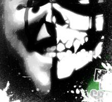 Bitter Rivals 2: Mimic v Grimm circa: 2009 Black and White Sticker