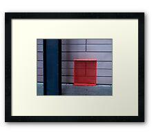 urban mondrian Framed Print