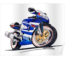 Suzuki GSX-R750 Poster