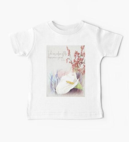 Keep peace in your soul Baby Tee