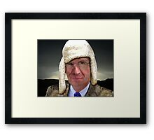 Wulff in sheep's clothing Framed Print