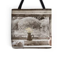 Flowers In The Window Tote Bag