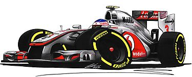 F1 2012 - McLaren MP4-27 - Jenson Button by Richard Yeomans