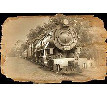 Steam Engine Photographic Print