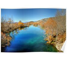 Ohau River in Late Autumn Poster