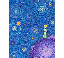 The Cosmic Little Prince Photographic Print