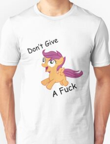 Don't Give A Fuck Scoots T-Shirt