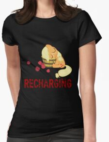 Recharging Womens Fitted T-Shirt