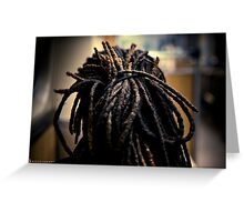 Rastafarian Greeting Card