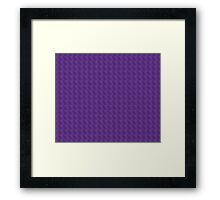 Purple Haze Design Framed Print