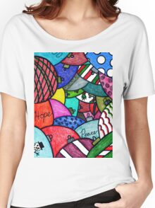 Adorning Ornaments   Women's Relaxed Fit T-Shirt