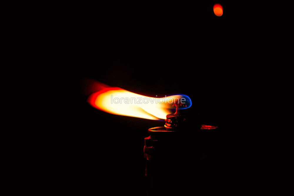Red Flame by lorenzoviolone