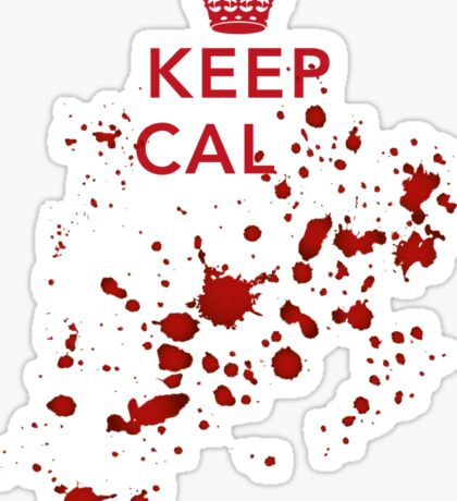 Keep cal... Sticker