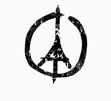 Pray For Paris Peace Sign Unisex T-Shirt