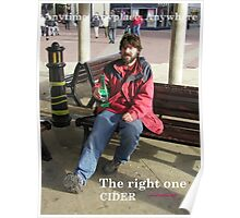 Anytime, Anyplace, Anywhere - Cider Poster