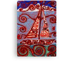 Sail 2 Canvas Print