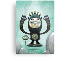 Alien Guard Metal Print