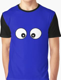 Cartoon Eyes Phone Cover Graphic T-Shirt