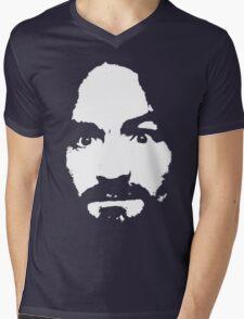 Manson Mens V-Neck T-Shirt