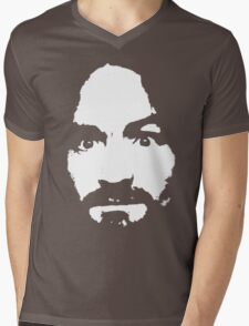 Manson Mens V-Neck T-Shirt