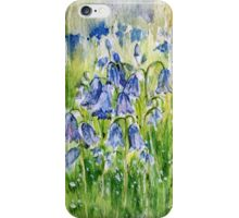 BLUEBELL PHONE CASE iPhone Case/Skin