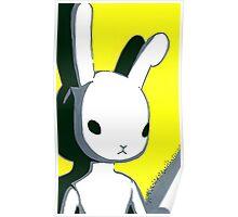 Yellow Beatrice Bunny  Poster