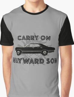 Carry on Wayward Son  Graphic T-Shirt