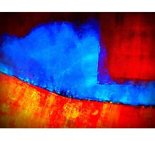 Rinsed in Blue Photographic Print