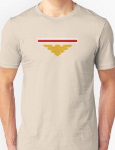Shepard N7 stripes and Archangel symbol Unisex T-Shirt