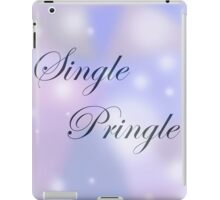 Single Pringle I iPad Case/Skin