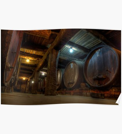 Winery Cellar Poster