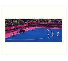 Olympics Hockey Art Print