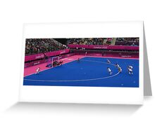 Olympics Hockey Greeting Card