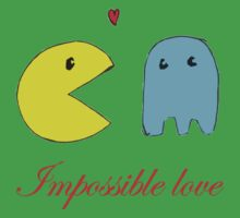 Impossible love  One Piece - Short Sleeve