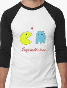 Impossible love  Men's Baseball ¾ T-Shirt