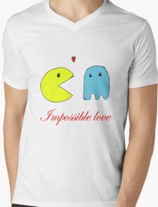 Impossible love  Mens V-Neck T-Shirt