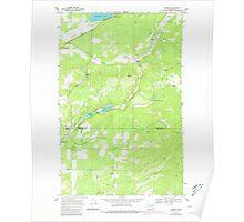 USGS Topo Map Washington State WA Camden 240325 1968 24000 Poster