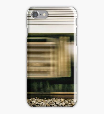 Train in Motion iPhone Case/Skin