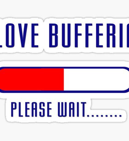 Buffering Please Wait T-shirt - Application File Loading Sticker