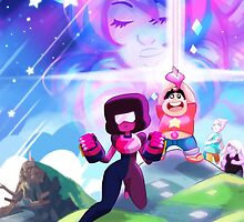 Steven Universe - GEM WARS by youkaiyume