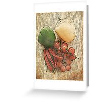 Fruit and Veg Greeting Card