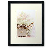 Precious Cupcake Framed Print