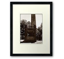 Lookout Tower. Framed Print