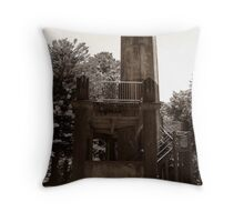 Lookout Tower. Throw Pillow